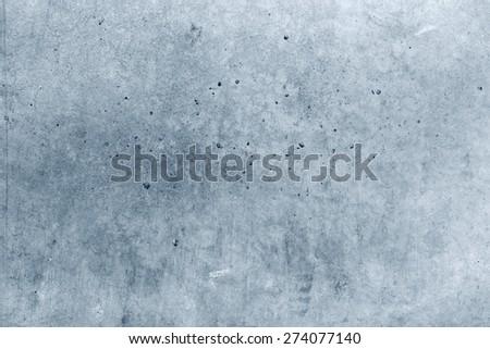 Closeup of blue concrete wall - stock photo