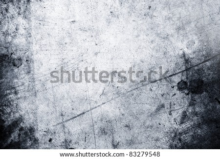 Closeup of blue grunge rough textured background - stock photo