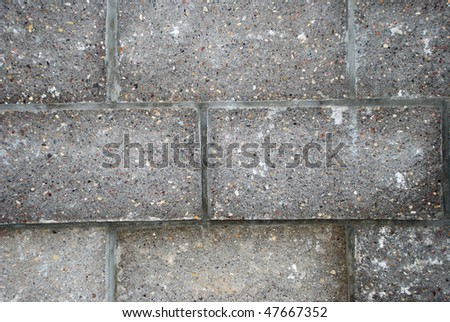 Closeup of brick wall can be used as background - stock photo