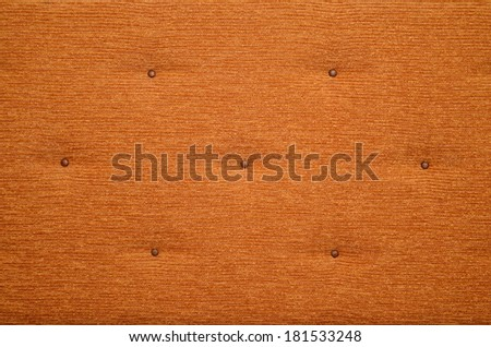 Closeup of brown carpet texture background