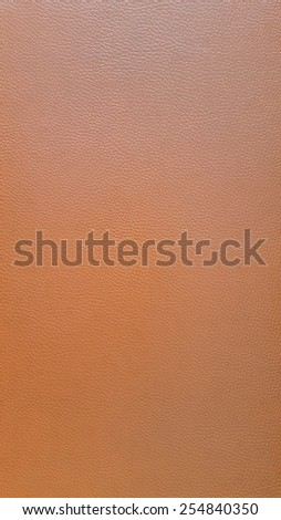 Closeup of Brown leather texture for background and design-works. - stock photo