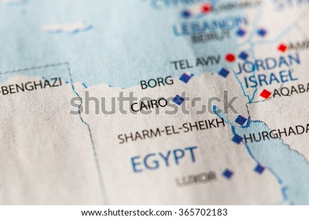 Closeup cairo egypt on political map stock photo royalty free closeup of cairo egypt on a political map of africa gumiabroncs Gallery