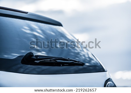 closeup of car