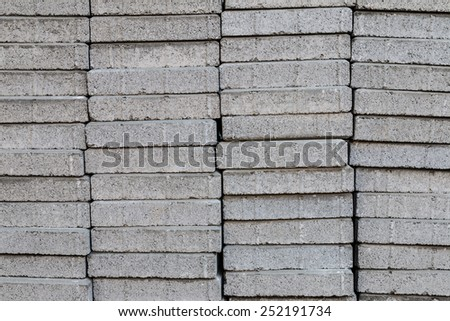 closeup of cement block  texture pattern background