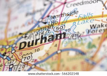 North Carolina Map Stock Images RoyaltyFree Images Vectors - Road map of north carolina