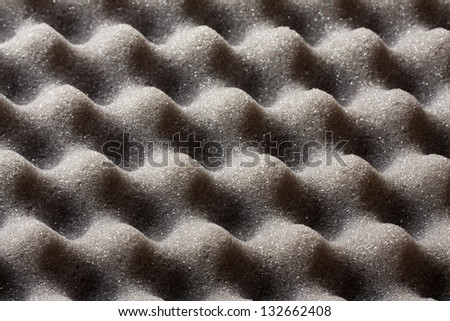 Closeup of Foam Rubber - stock photo