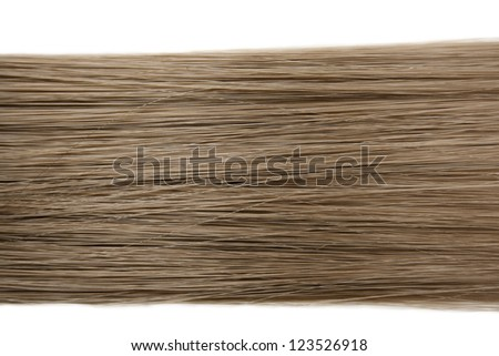 Closeup of long human hair background - stock photo
