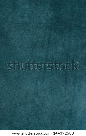 Closeup of natural background - blue suede. - stock photo