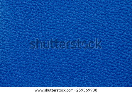 Closeup of Natural blue leather texture  - stock photo