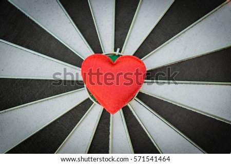 Heart bullseye stock images royalty free images vectors closeup of old black and white target with red heart symbol bullseye as love background thecheapjerseys Gallery