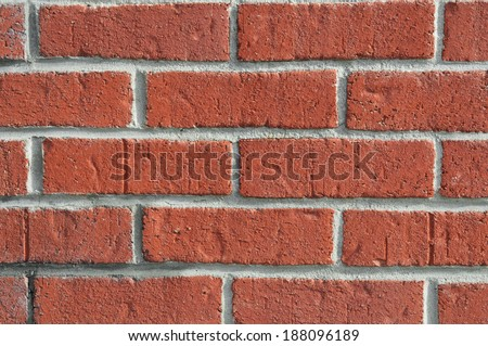 closeup of old brick wall background