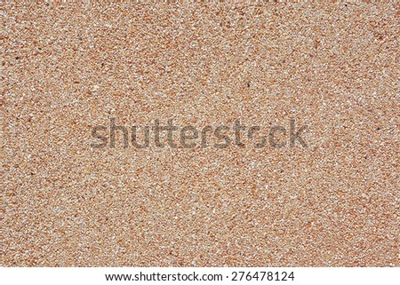 closeup of pebble stones wall texture background - stock photo
