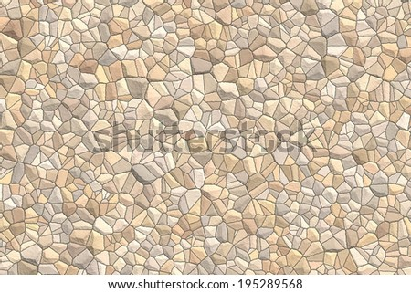 closeup of photo, computer generated stone wall texture background