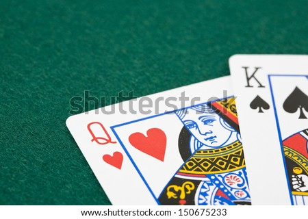 Simple King Of Hearts Card