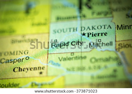 South Dakota Stock Images RoyaltyFree Images Vectors - Political map of south dakota