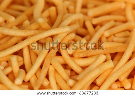 closeup of sev - stock photo
