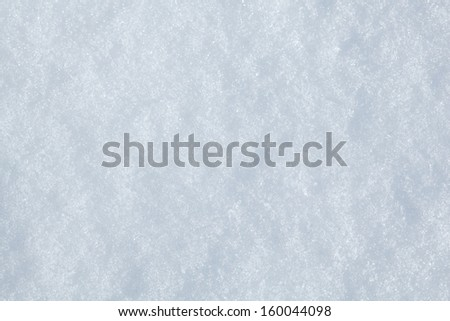 Closeup of snowbound field  - stock photo