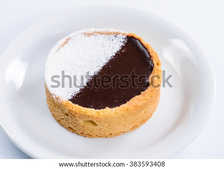 closeup of tasty cupcake (shallow DOF) - stock photo