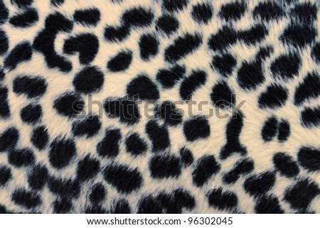 closeup of tiger fabric texture