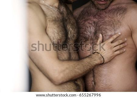 Men playing naked Hairy