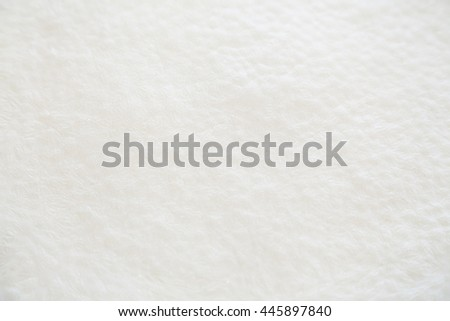 Closeup of white solid milk skin