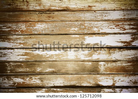Closeup of wooden boards background - stock photo
