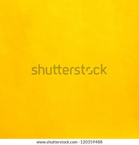 Closeup on yellow leather background. - stock photo