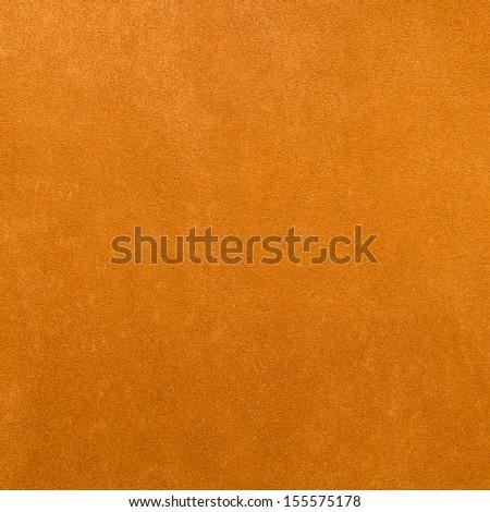 Closeup on yellow leather background. - stock photo