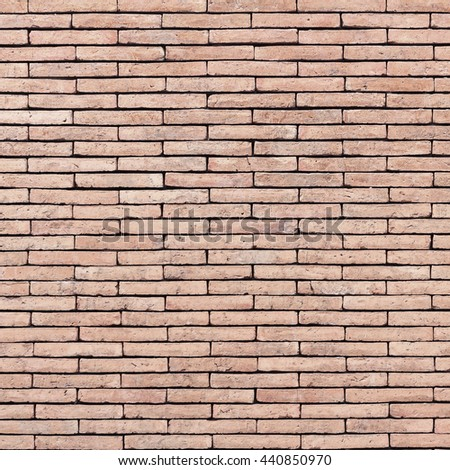 Closeup orange brick texture and brick background. Grunge retro vintage of brick wall. Part of old brick wall for design with copy space for text or image. - stock photo