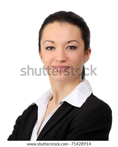 Closeup portrait of a successful businesswoman