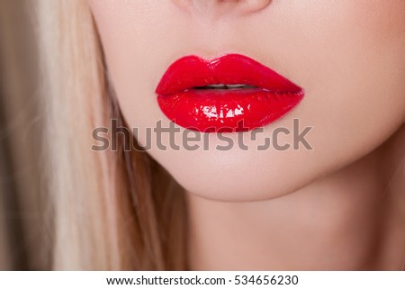 how to get red lips for man