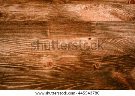Closeup shot of brown wood plank texture, abstract textured background