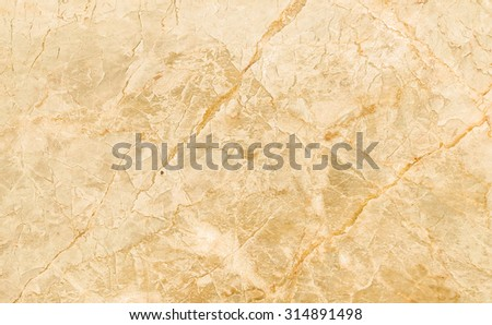 Closeup surface brown marble texture background - stock photo