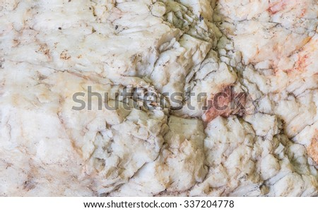 Closeup surface of big rock for decoration in the garden texture background - stock photo