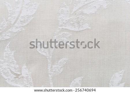 Closeup texture of fabric weave - stock photo
