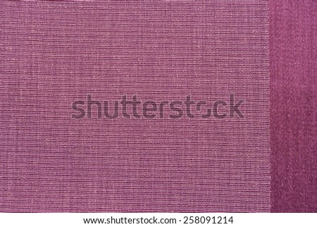 Closeup texture of fabric weave - stock photo
