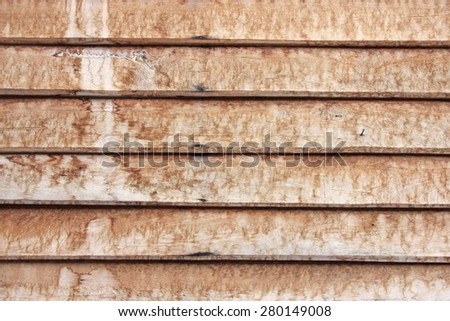 Closeup texture of wooden background.