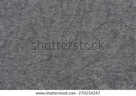 closeup to grey  knitwear texture background