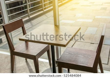 Kitchen Table Close Up closeup top view coffee table dining stock photo 456054730