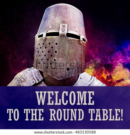 Knights of the round table stock images royalty free for 12 knights of the round table and their characteristics