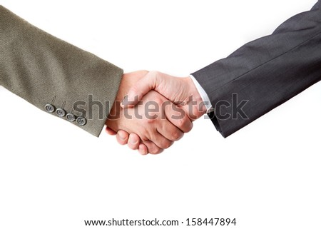 Closing the deal - stock photo
