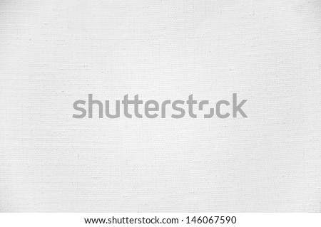 cloth canvas with white paint - stock photo