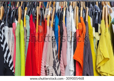 Clothes - stock photo