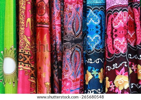 clothes color - stock photo