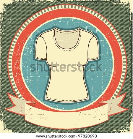 Clothes label set on white.Raster