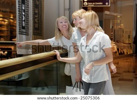 Clothes Shopping - stock photo
