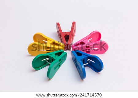 clothespin colourful gathering brainstorm