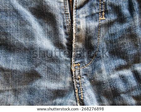 clothing jeans background - stock photo