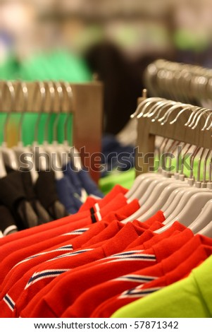 Clothing store - stock photo