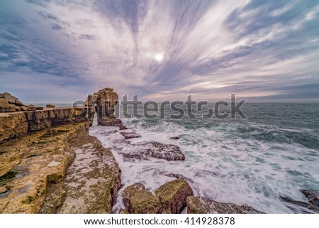 Cloud Formations On The Coast
